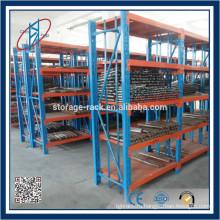 Металлическая стеллажная система для хранения склада