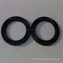 Kundenspezifische Gummifuß-Schulter-kugelförmige Belleville-Silikon-Gummischeibe