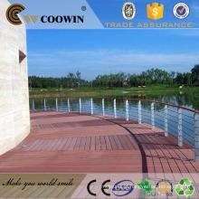 Eco Boa Qualidade WPC Pavimento Deck / Wpc dock deck / plataforma marinha