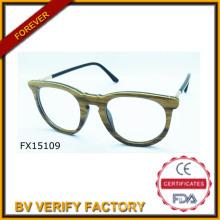 Trade Assurance 2015 Round Frame Bamboo Sunglasses (FX15109)