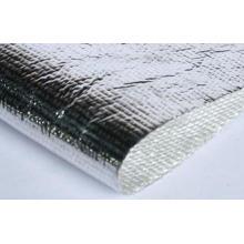 High Temperature Fiberglass Cloth Coated Aluminum , 0.5 - 6