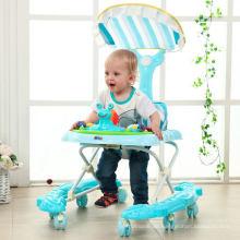 New Infant Baby Walker mit 8 PU-Rädern zum Verkauf