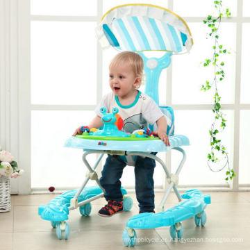 Nuevo Baby Walker infantil con 8 ruedas de PU en venta