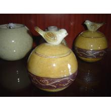Keramische Behälter Keramik Candy Jar