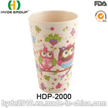 Diseño lindo Eco-Friendly Bamboo Fiber Cup (HDP-2000)