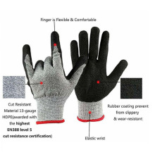 Aramid Knitted Cut Prevent Anti Puncture Safety Gloves