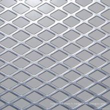 Treillis métallique expansé décoratif en aluminium