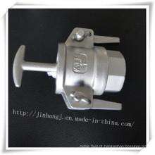 Conector rápido Kjb de aço inoxidável