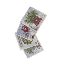 Kundenspezifische Farbe! Spitzenverkauf garantierte Qualität Laser schnitt Grußkarte, Grußkarte des neuen Jahres