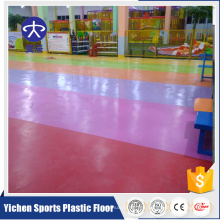 La fabricación superior de YC de suelo de PVC incombustible pvc rollos suelo de plástico interior