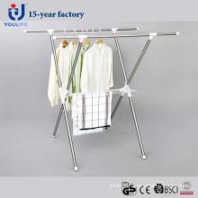 Нержавеющая сталь Выдвижной сушки вешалка для одежды