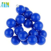 Perles acryliques claires en gros / perles acryliques rondes à facettes 4-30mm