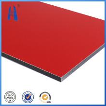 PVDF painel de plástico composto em alumínio / chapa / placa