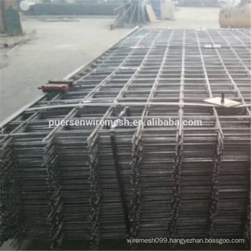 Black Wire Mesh Material and Reinforced Mesh Type SL82 reinforcing mesh