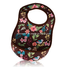 Cheap Price Colorful Neoprene Disposable Baby Bib (SNBB07)