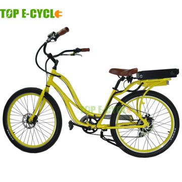 Наиболее популярные электрический велосипед для продажи пляж крейсер электрический велосипед сделано в Китае