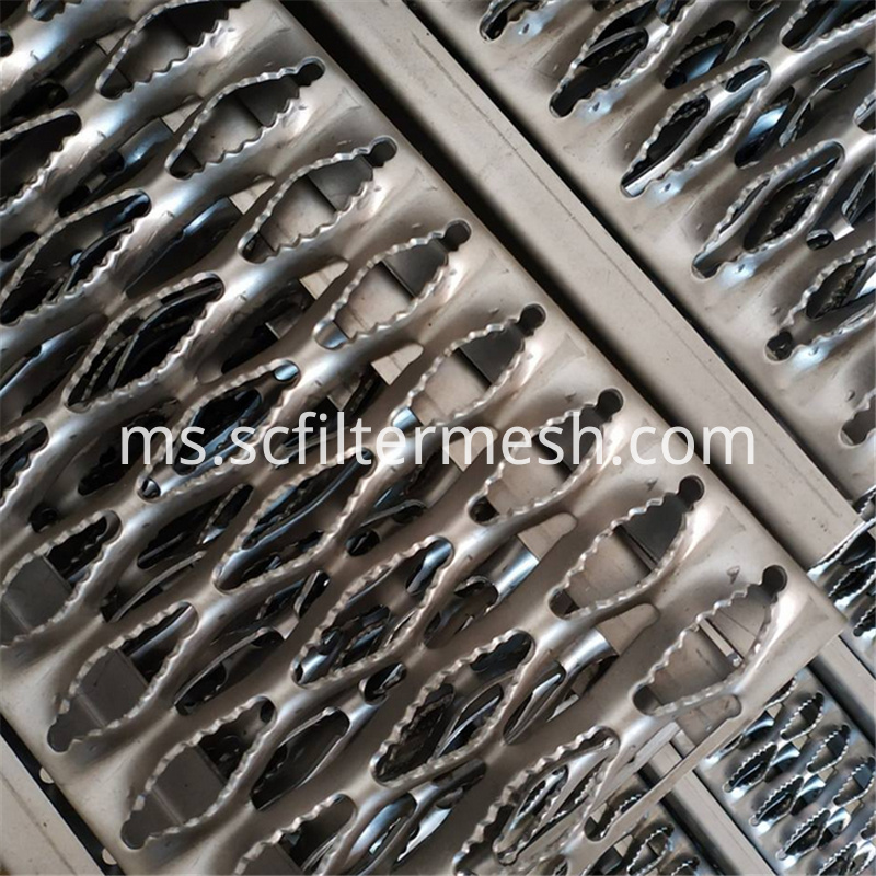 Serrated Perforated Metal