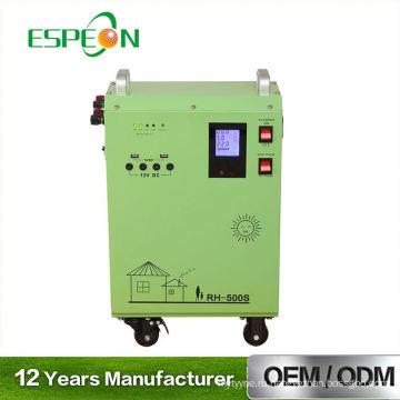 AC Главная 5 Вт-5000 Вт портативный Солнечный генератор мини