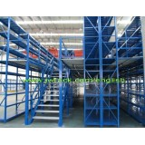 Steel Multi-Tier Mezzanine Floor Rack for Storage