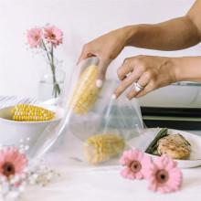 Компостируемые пакеты для вакуумных упаковок с термосваркой для пищевых продуктов
