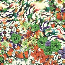 Chine Beau tissu tissé de tissu d'impression numérique (TLD-0086)