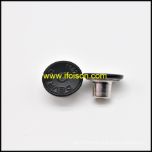 24L botón de los pantalones vaqueros con la insignia del cliente