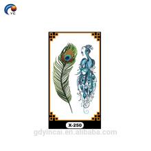 Индивидуальные крылья ангела наклейки , временные татуировки с низкой ценой