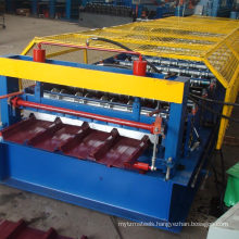 Hangzhou market hot sale single seamless metal roof&wall sheet color steel tile panel roll forming machine