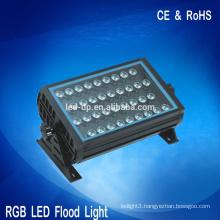 Garden 36watt RGB led flood light, Waterproof outdoor led lighting