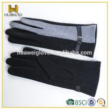 Wholesale women cheap wool gloves fashion winter dress gloves