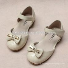 Prinzessin flache Schuhe Kinderschuhe schwarze weiße und rosa Tanzschuhe für Ballerina