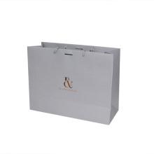Sacs de papier d'art commercial de luxe pour l'habillement