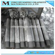 rotor de grafite desgaseificante para fundir alumínio