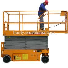 200kg 230kg 8m hydraulic platform mobile scissor lift self propelled scissor lift