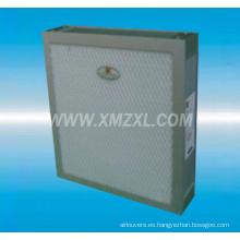 0.1um filtro Mini-pleat ULPA