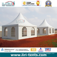 Two Pagoda Tent with Clear Windows