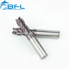 Fraise à chanfreiner à 45 degrés en carbure monobloc pour outil de coupe CNC BFL