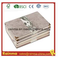 Cuaderno de tapa dura de alta calidad con cubierta de cuero