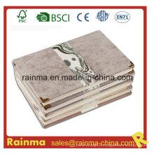 Caderno de capa dura de alta qualidade com capa de couro