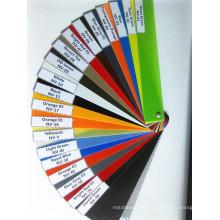 Hoja aislada de color G10 para el mango del cuchillo