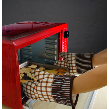 Thicken oven gloves for home use