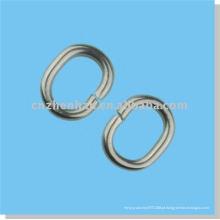 Cortina acessório-aço inoxidável loop-metal cortina anel para haste de cortina, anel de ferro para toldo cego, componente janela cego