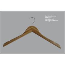 BSCI/Fsc poids léger cintre en bois pour les gros