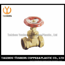 Brass Copper Gate Valve with Aluminum Handle (YS6007)