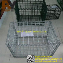 Geschweißte Gabionen-Käfig-Gabions-Stützmauer