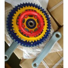 Accessoires de vélo de roue à chaîne & manivelle