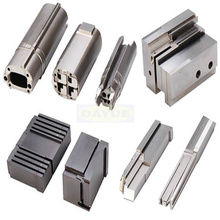 Electrical connector components mold cavities and inserts