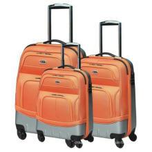 Sac de couleur chaude valise trolley bagages