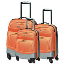 Hot color suitcase trolley luggage bag