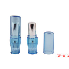 Vase Shape Light Blue Lipstick Tube Empty